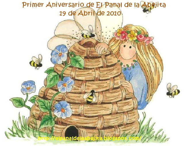 SELLITO DEL PRIMER ANIVERSARIO DE MI BLOG
