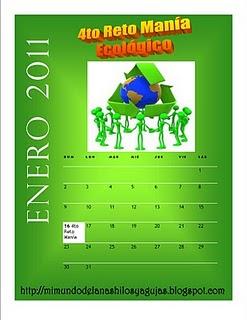 4TO RETO MANÍA ECOLOGICO DE YAMEL!!