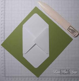 Fold in corners