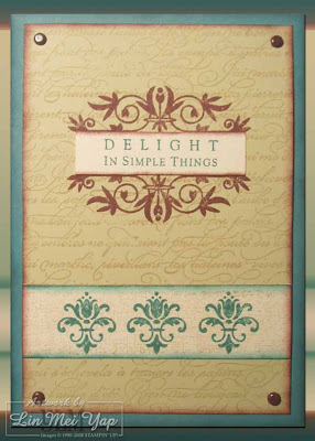 Stampin' Up! Training Day Card-in-a-box