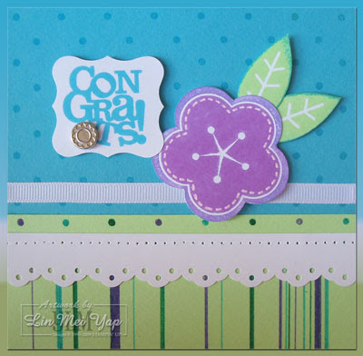 Card using Stampin' Up! supplies