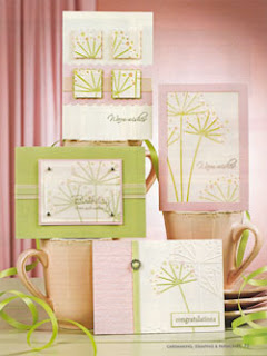 Cardmaking Stamping & Papercraft Vol 15 No 3 Coloured Cuttlebug Cards By Lin Mei Yap Pg 75