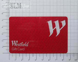 Size up your gift card