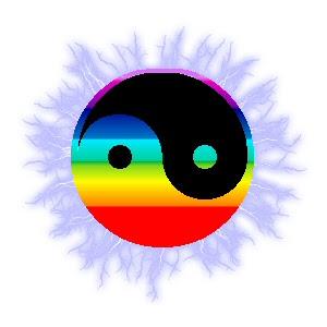 Healing cocoon yin yan