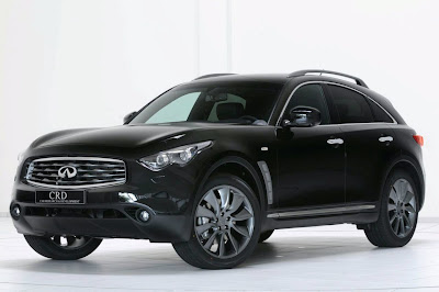 2010 Infiniti FX50 Awesome view