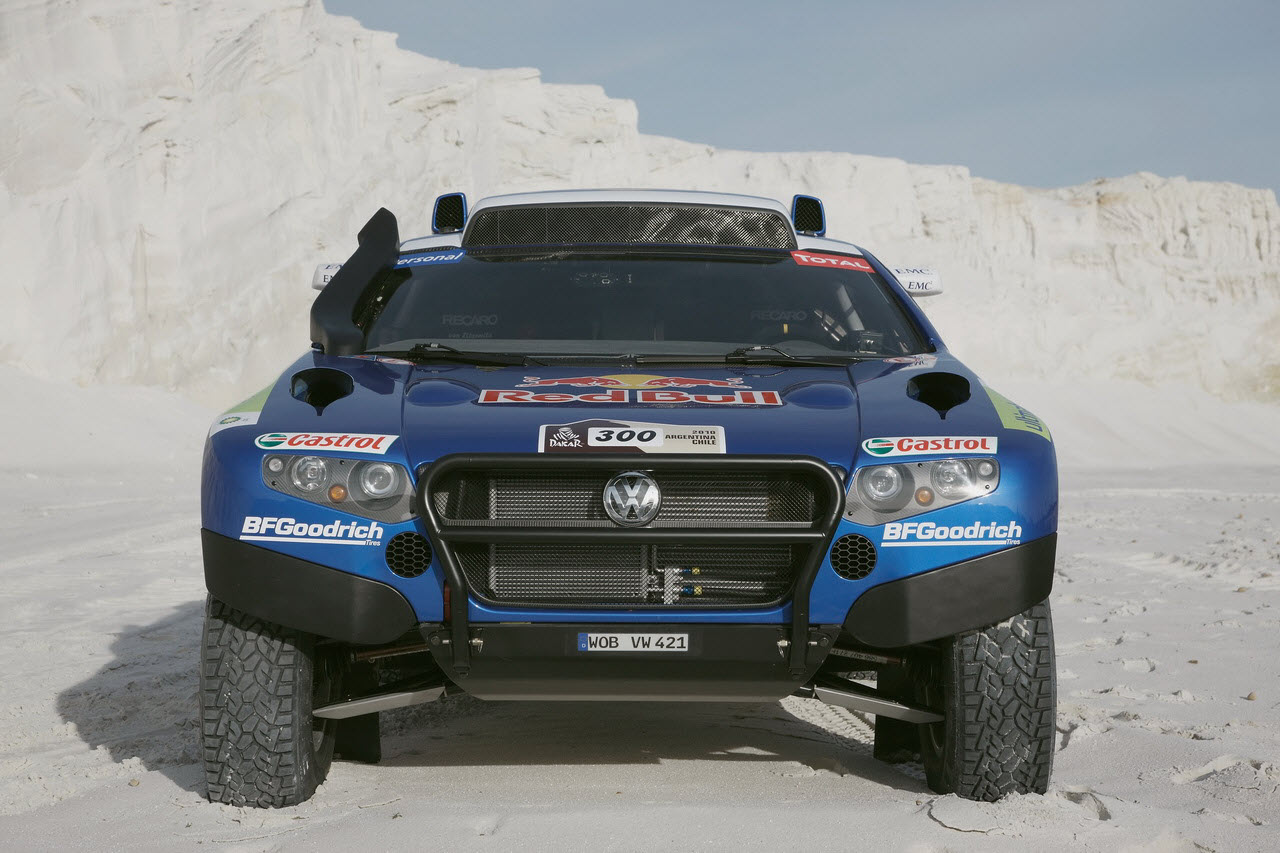 The Dakar technology of the Volkswagen Race Touareg in detail