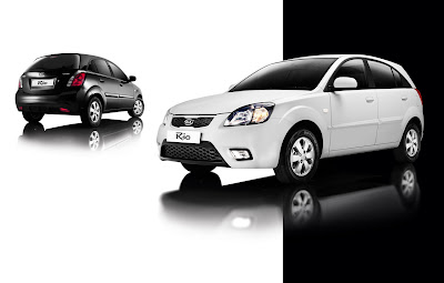 Black and white changes to the Kia line-up