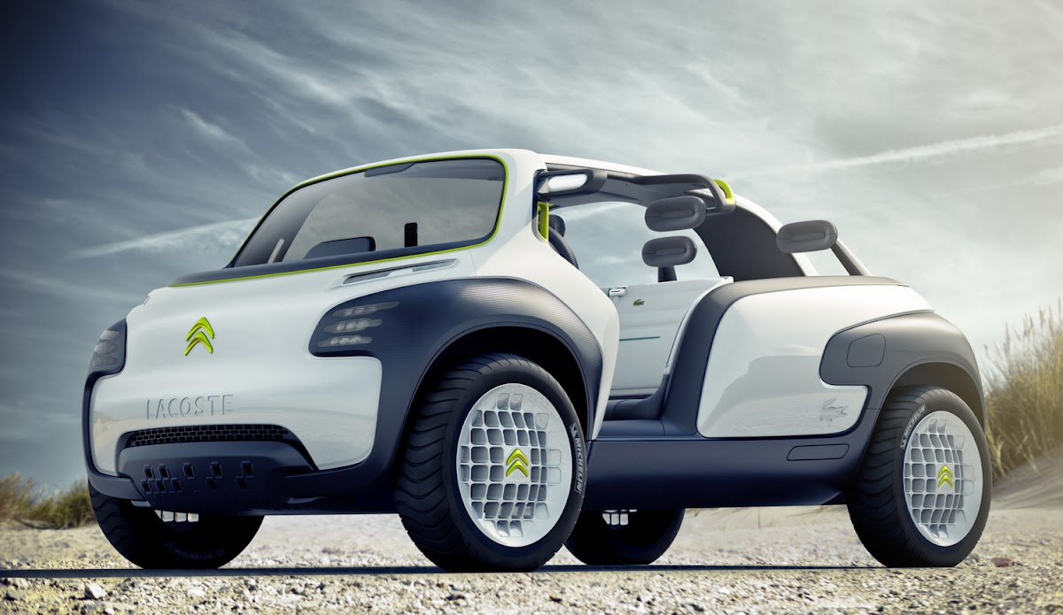2010 Paris Preview: Citroen Lacoste Concept