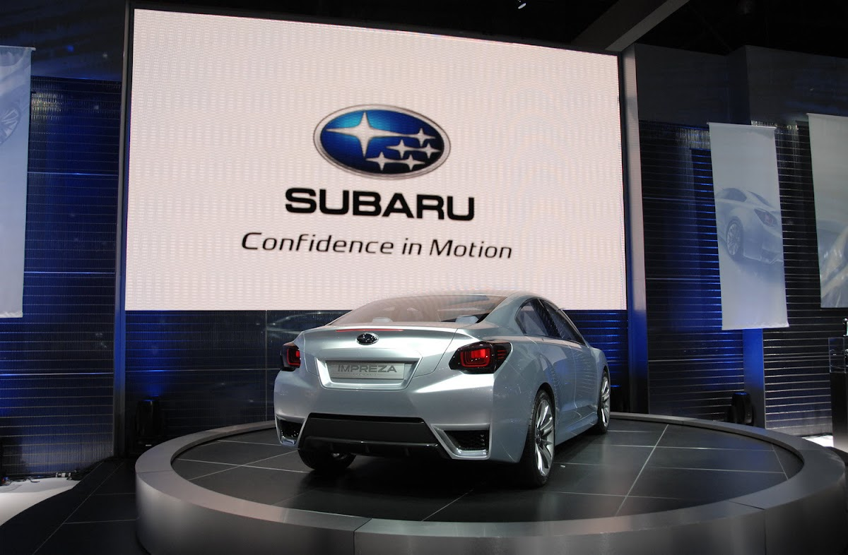 LA 2010: Subaru Impreza Concept