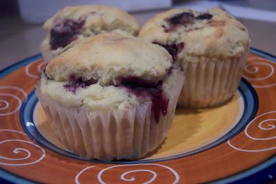 Gluten Free Heaven: Blackberry Cornmeal Muffins
