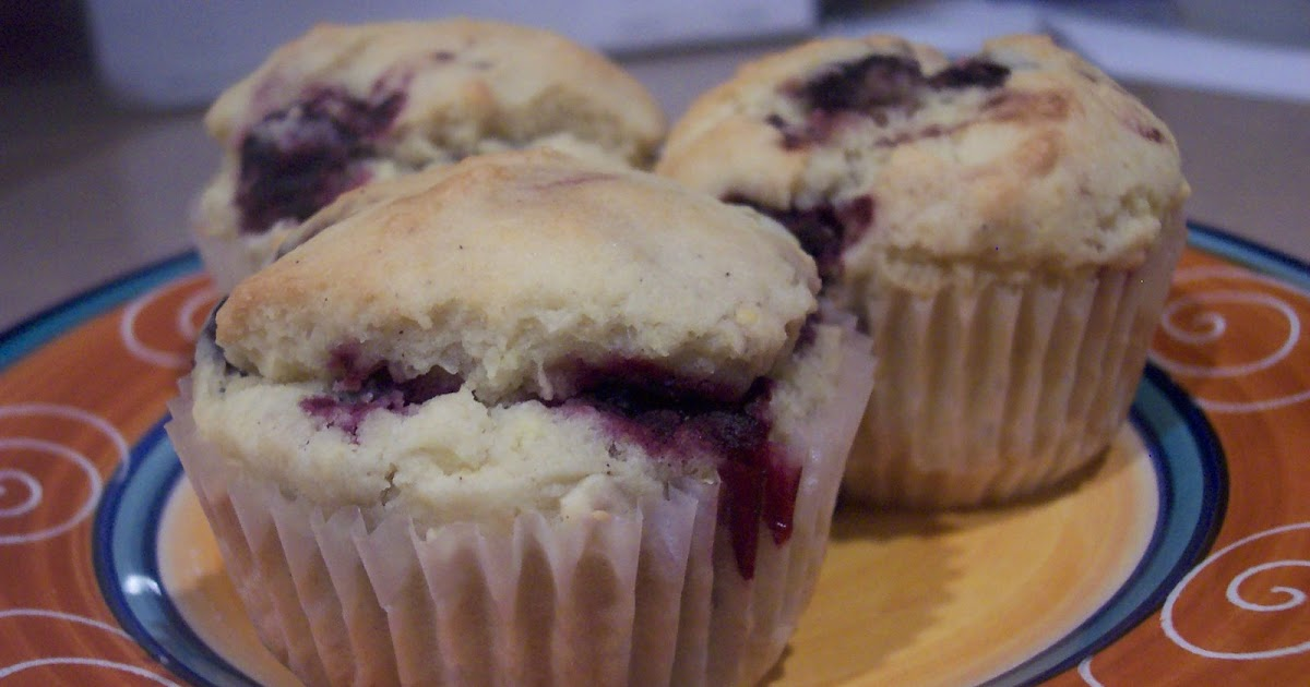 Gluten Free Heaven: Blackberry Cornmeal Muffins