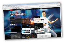 Site oficial do Luan Santana