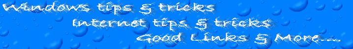 tips, tricks and good links