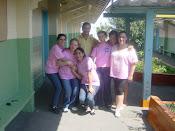 """Equipe Escola da Família - """"Nanci, Flower, Izabel, Natássia e Irys"""