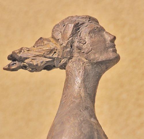 Mujer ascendente