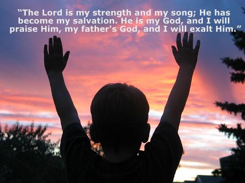 Daily Verse: Exodus 15:2 | PRAISE 106.5