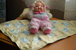 Doll baby blankets