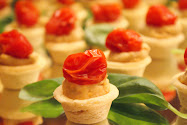 Canapes from our 25th!
