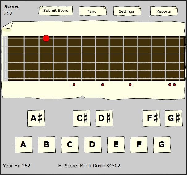 Learn The Guitar Fretboard With Flash Cards Not Playing Guitar