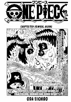 One piece Chapter 554