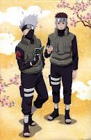 Hatake Kakashi and Yamato