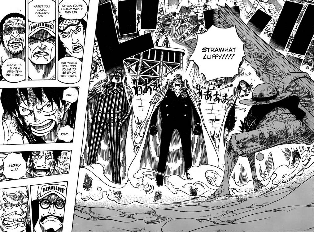 Read One Piece 565 Online | 13 - Press F5 to reload this image