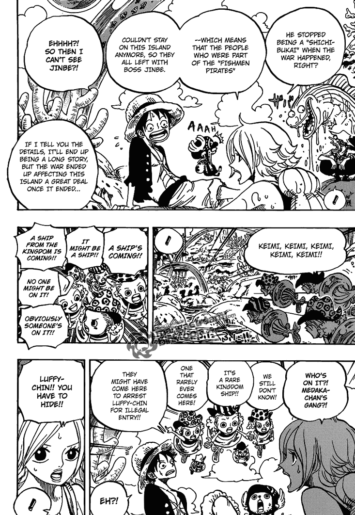 Read One Piece 609 Online | 05 - Press F5 to reload this image
