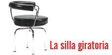 la silla giratoria