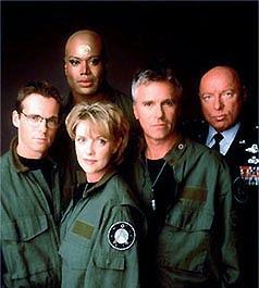 Tim SG-1: Danijel, Til'k, Sem, O'Nil i Hamond