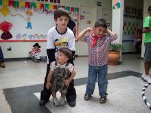 JOÃO GABRIEL, RAFAEL E MARCUS VINICIUS
