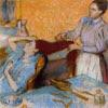 Woman having her hair combed, 1892-1895, Edgar Degas