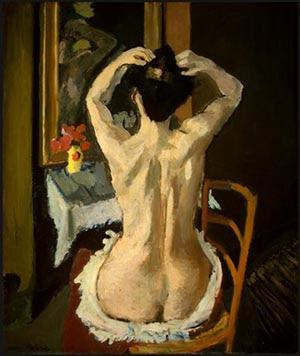 Matisse, La coiffure - 1901