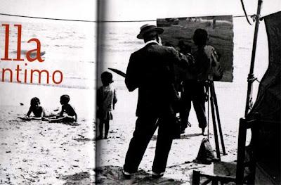 Playa de la Malvarrosa, pintando por el puro placer de pintar... verano de 1916, Valencia