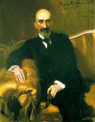 Sorolla, Retrato de Jacinto Benavente,1917