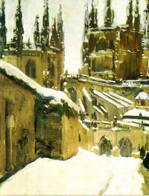 Sorolla, La catedral de Burgos, 1910