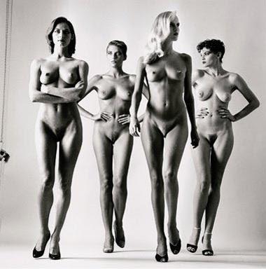 Helmut Newton, naked