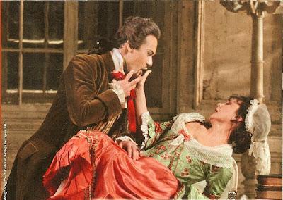 el conde de Almaviva y Susana