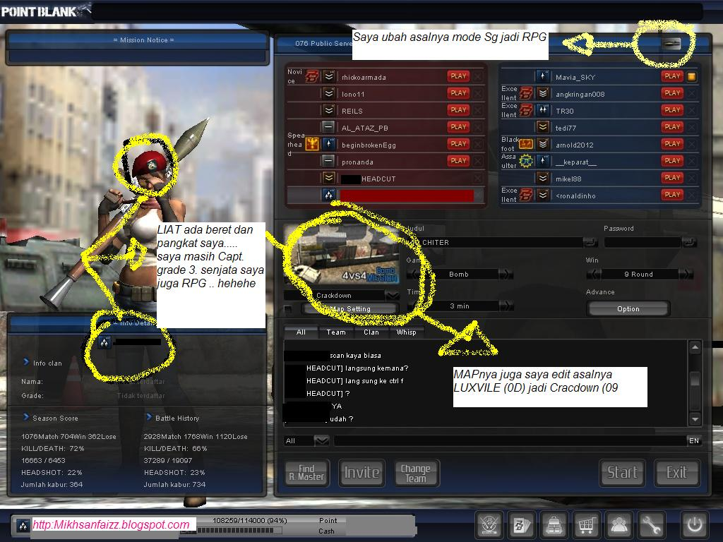 minimize pointblank . WINHEX 2 minimize PB saat login id dan password ...