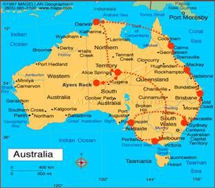 1000 images about australia paisajes lugares turismo - Paisajes de australia ...