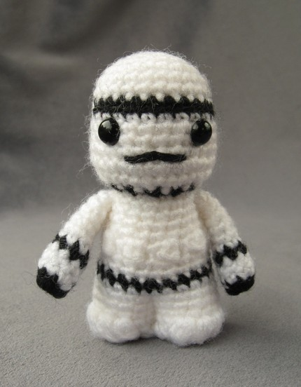 Amigurumi Star Wars Tutorial : Stash: Star Wars Amigurumi Crochet-a-long!