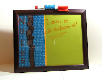 Zarnas World Picture Frame Whiteboard