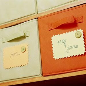 Organizar usando etiquetas