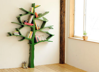 Interiores: A árvore que cresce livros