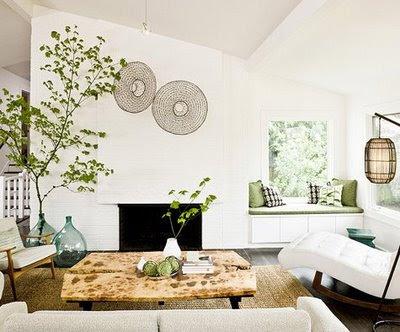 Interiores: Um ar de frescor