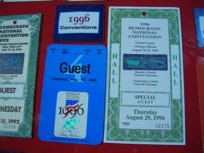 Convention credentials (photo: North Star Liberty