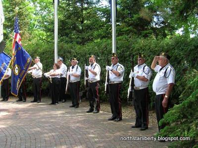 American Legion Post 118, Heritage Park, Wayzata, Minnesota, May 25, 2009