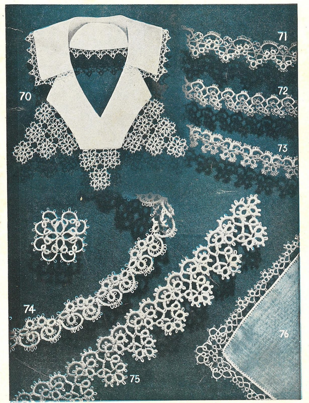how to tatting instructions