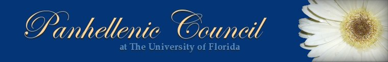 University of Florida's Panhellenic Council