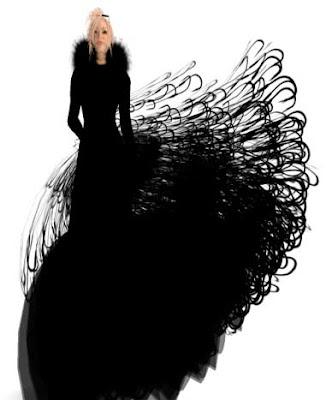 wearable art dresses. piece of wearable art that