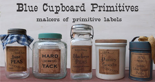 Blue Cupboard Primitives